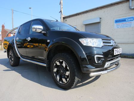 MITSUBISHI L200 DI-D 4X4 BARBARIAN LB DCB DOUBLE CAB PICK UP