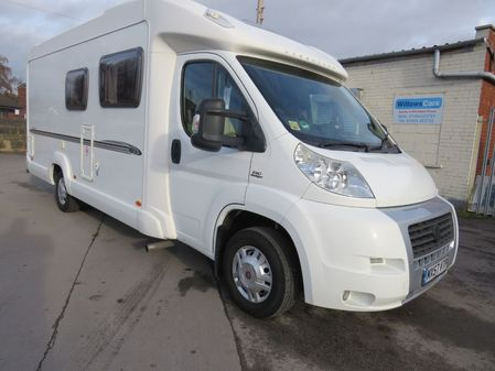 FIAT DUCATO BESSACAR E560 4 BERTH FIXED BED MOTORHOME